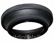 62mm Wide Angle Rubber Lens Hood Sun Shade Screw-in Folding 62 mm U&S