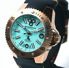 "BALDIERI, AUTOMATIC, 38MM ROSE GOLD SEAMONSTER  ""PANAREA"",  20ATM,"