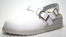 Scarpe da uomo bianche con fibbia
