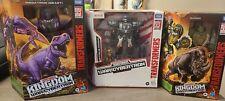 Transformers: Kingdom war for Cybertron: Megatron, optimal primal, Rhinox.