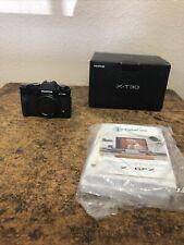 Fuji Fujifilm X-T30 26.1MP Mirrorless Digital Camera Body Black