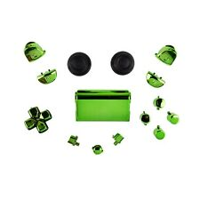 Sony PS4 Playstation 4 Full Button Set Chrom-Optik - Green