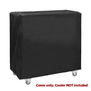 Clevr Cooler Cart Cover, Fits Most 80 Quart Rolling Ice Chest Water Resistant