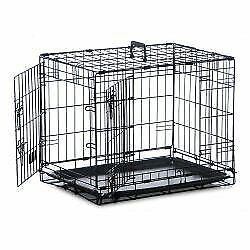 Safe 'N' Sound Dog Crate 2 Door - sml - 756578