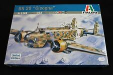 ZB015 ITALERI 1/72 maquette avion 1143 BR20 CICOGNA decals  Edition limited