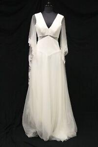 Savannah Miller Blythe Bridal Wedding Gown Dress sz 6