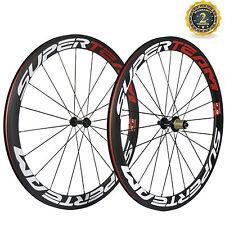 700C Clincher Wheels Carbon 50mm Wheelset R13 Hub Shimano 10/11 Superteam Road