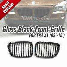 Gloss Black Kidney Front Mesh Grille Nose for BMW X1 E84 SUV 2009-2015 Genuine