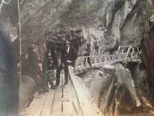 Heart of Box Canyon Colorado 1901 Keystone stereoview photo vtg natural wonder