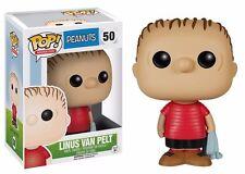 "PEANUTS CHARLIE BROWN-Linus Van Pelt 3.75"" POP Figura in Vinile Funko Nuovo di Zecca"