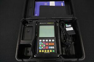 Loaded Olympus Panametrics Epoch LT Ultrasonic Flaw Detector w/All Software!