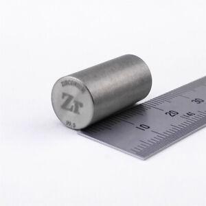 Zirconium Metal Rod 99.5% 10grams 10 diameterx20mm Length Element Zr Specimen