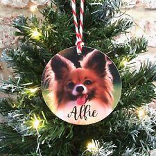 Personalizado De Madera Para Mascota Perro Cachorro Gato Colgante de Árbol de Navidad decoración de bolas