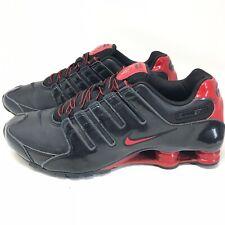 timeless design 6d989 5ba38 Nike Shox NZ Running Shoes Sneakers Sz 11 M Mens Rare 378341-047 Black Red