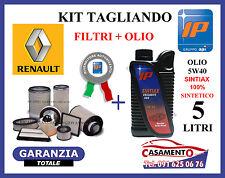 KIT TAGLIANDO FILTRI + OLIO IP SINTIAX RENAULT CLIO II 1.5 DCI