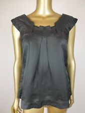 CUE BLOUSE STEEL GREY SHIRT TANK CAMI TOP  - 8