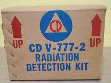 Vintage Shelter Radiation Detection Kit Cd V 777 2geiger Counter Civil Defense