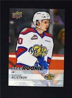 2018-19 18-19 UD Upper Deck CHL Star Rookie #355 Vladimir Alistrov RC