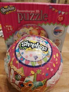 Shopkins 3D Puzzleball 72 Piece Ravensburger