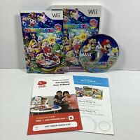 Mario Party 9 (Nintendo Wii, 2012) Complete w/ Manual - TESTED and WORKING!