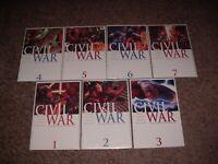 HUGE LOT OF 100 CIVIL WAR (2006) COMICS! MARK MILLAR CAPAIN AMERICA IRON MAN VF+