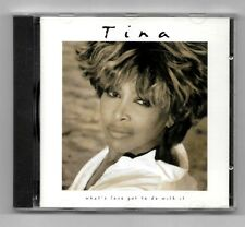 CD / TINA TURNER - WATH'S LOVE GO TO DO WITH IT / 14 TITRES ALBUM 1993