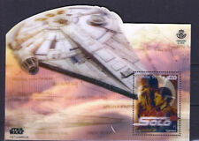 Spain Star Wars Han Solo and the Millennium Falcon Sheet Block 2018 Novelty