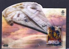 Espagne Star Wars Han Solo et le Faucon Millenium Feuille Bloc 2018 Nouveauté
