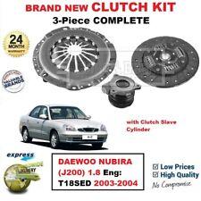 DAEWOO NUBIRA 1.6i 10//1997-2//2003 NEW 3 PIECE CLUTCH KIT COMPLETE *OE QUALITY*