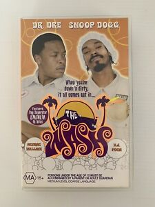 The Wash VHS Snoop Dogg Dr Dre Features Eminem (Ex-Rental) Free Post Tracking