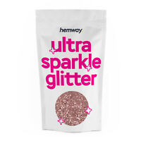 "Hemway CHUNKY Glitter Rose Gold 1/40"" 0.025"" 0.6mm 625 microns"