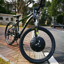 """36V Electric Bike Tire 20""""/24""""/27.5""""/29""""Front Wheel Bicycle Motor Conversion Kit"""