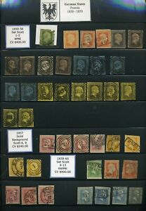 GERMAN STATES - Outstanding Prussian Collection