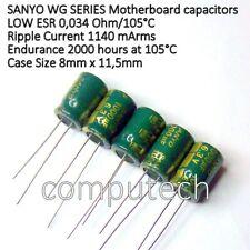 2 Pezzi Condensatore Elettrolitico 1000uF 35V 85°C Radiale 10x22mm