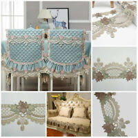 2 Yard Gothic Champagne Flower Lace Trims Embroidery Trim Cusion Sofa Decor