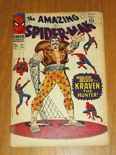 AMAZING SPIDERMAN #47 VG (4.0) MARVEL COMICS KRAVEN APRIL 1967