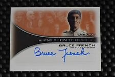 STAR TREK ENTERPRISE BRUCE FRENCH AS VULCAN ELDER  AUTOGRAPH CARD