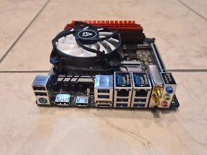 ASRock H370M-ITX/ac + I3-8100 + 8GB Ram 6 X Sata