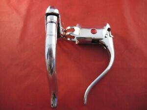 WEINMANN QUICK RELEASE ALLOY BRAKE LEVERS CIRCA EARLY 1970`s - BRIGHT POLISHED