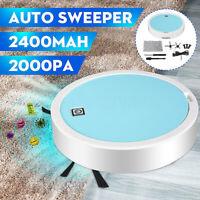 Electric Vacuum Cleaner Robot USB Rechargebale Floor Sweeper Sweep Mop