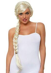 Long Blonde Braid Wig