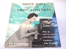 "XID 5027 Eileen Joyce Plays The Grieg Concerto 12"" Vinyl LP SAGA"