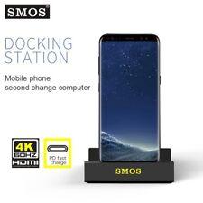 SMOS Base DeX per Samsung Galaxy S8 S8+ S9 9+ MG950, Perfetta Compatibilità 4K H