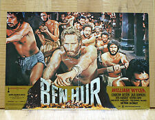 BEN HUR fotobusta poster affiche Charlton Heston A Tale of the Christ Wyler AM16