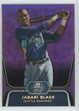 2012 Bowman Platinum Prospects Retail Purple Refractor Jabari Blash #BPP79
