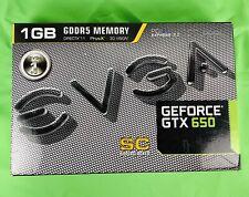 BRAND NEW EVGA NVIDIA GeForce GTX 650 (01G-P4-2652-KR) 1GB Graphic Card