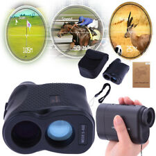 Waterproof 600M 6X LCD Telescope Laser Range Finder Distance Height Speed Meter