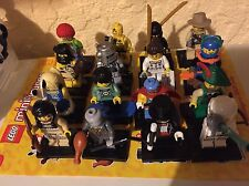 LEGO Collectible Minifigures CMF COMPLETE Series 1 set  16 Rare 2010