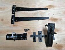"Tee bisagra puerta de madera de 12"" pares Kit de montaje de jardín portón Suffolk Set 300MM"