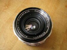 Schneider 28mm Edixa - Curtagon f/4 Close Focus Lens in M42 Pentax Screw Mount